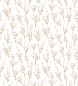 Papel pintado flores estilo nórdico Nordic Blossom 127088