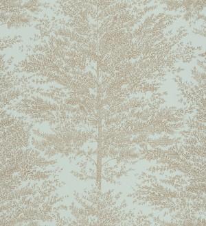 Papel pintado bosque de árboles difuminados Oyama 127099