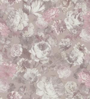 Papel pintado flores estilo romántico Karen Flowers 127113