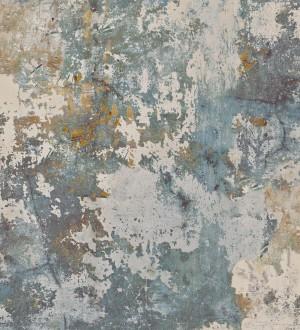 Papel pintado muro pintado desgastado con toques metálicos Shannon Factory 127163