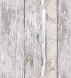 Papel pintado listones de madera desgastada estilo shabby chic Porto Caldeira 127179