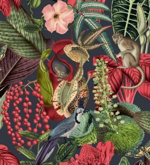 Papel pintado tropical de monos en la jungla Samoa Jungle 127209