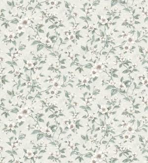 Papel pintado flores pequeñas estilo romántico Yves Garden 127265