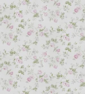 Papel pintado flores románticas estilo vintage Rosewood 127546