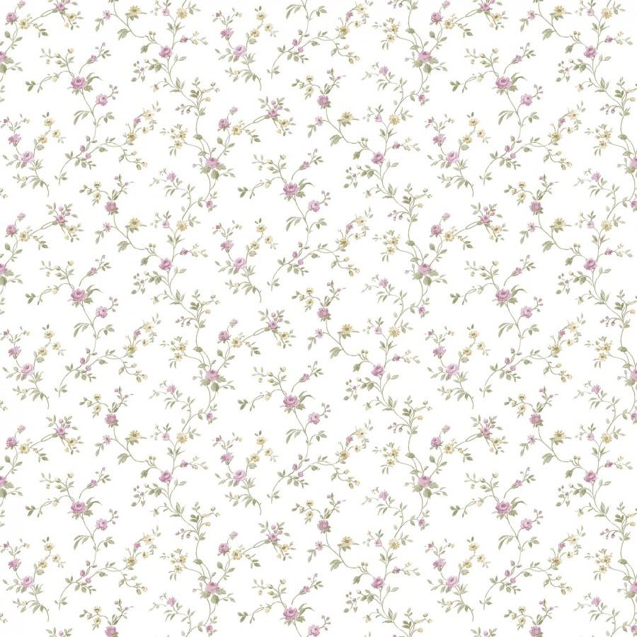 Papel pintado flores pequeñas románticas Verona Garden 127551