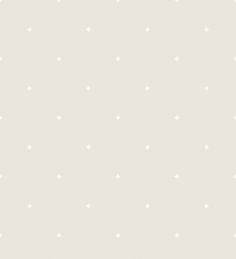 Papel pintado estrellas pequeñas fondo beige Tiny Amara 127557