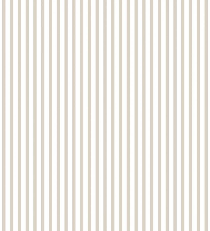 Papel pintado rayas estrechas ocres Raya Calvin 127562