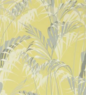 Papel pintado hojas de selva estilo tropical Panaman Leaves 127780