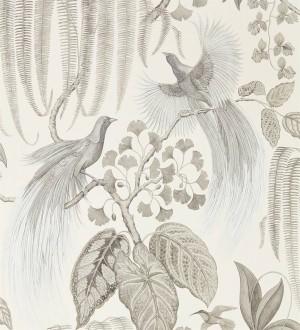 Papel pintado artístico de aves y plantas Rinko Royal 127786