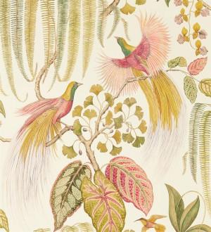 Papel pintado artístico de aves y plantas Rinko Royal 127787