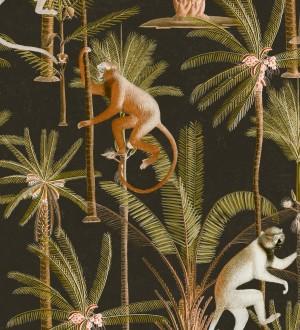 Papel pintado monos saltando en lianas Monkey Padure 127931