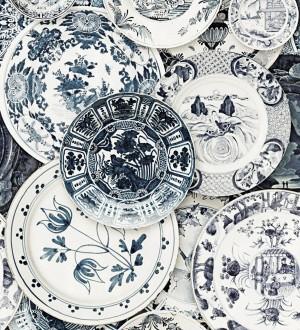 Papel pintado platos de porcelana Special Vesela 127959