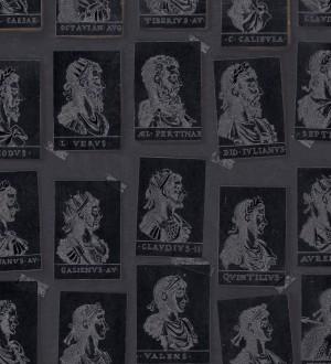 Papel pintado sellos de emperadores romanos tonos oscuros Emperor Legacy 128178