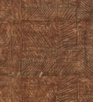 Papel pintado tablilla de madera grabada Laszlo 128246