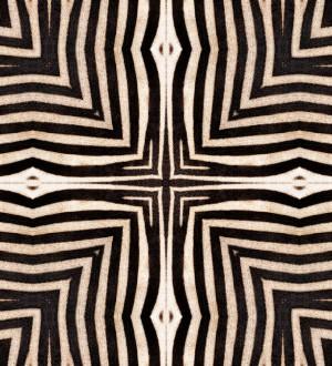 Papel pintado estampado de cebra estilo étnico Aisha Mood 128248
