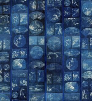 Papel pintado ventanas del acuario tonos azules Revealed Nature 128249