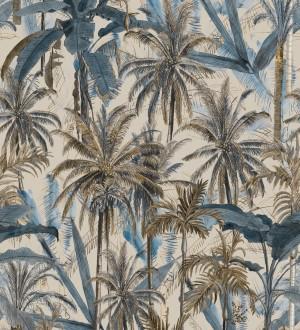 Papel pintado bosque de palmeras fondo claro Gordon Forest 128267