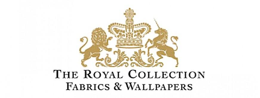 The Royal Collection: papeles pintados y telas